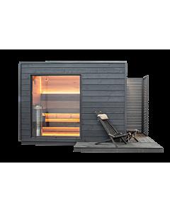 Design Sauna Knut 2-Raum Standard
