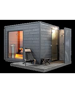 Design Sauna Swetlana 2-Raum Premium