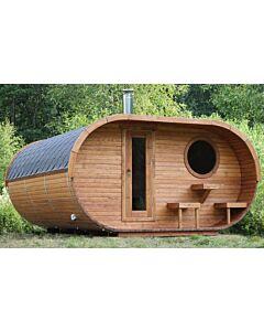 Oval Sauna Ole Terrasse