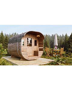 Camping Pod Tjark 4m Terrasse 2-Raum